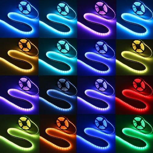 5V 5050 60SMD/M RGB LED Strip Light Bar TV Remote Control