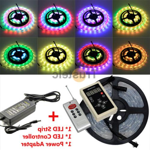 ELCPARK 5050 RGB Dream Color 6803 IC Strip Light +RF Control