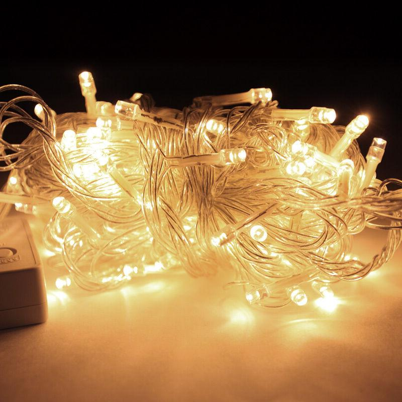 200 LEDs LED White Lights Party Christmas Outdoor Indoor