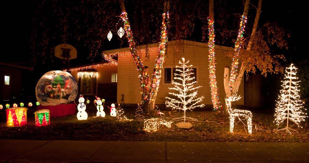 200 LED White Lights Christmas Indoor