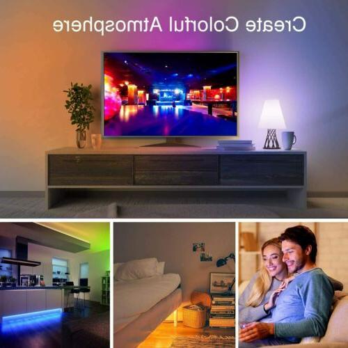 32FT LED Strip Remote Fairy TV