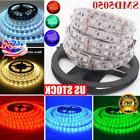5M 300LEDs RGB SMD5050 LED Strip Light Flexible Individual A