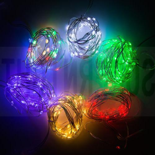 5M 66Leds Copper LED String Timer with Remote