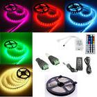 5M Flexible LED String Strip Tape Light 44 Key Remote Contro