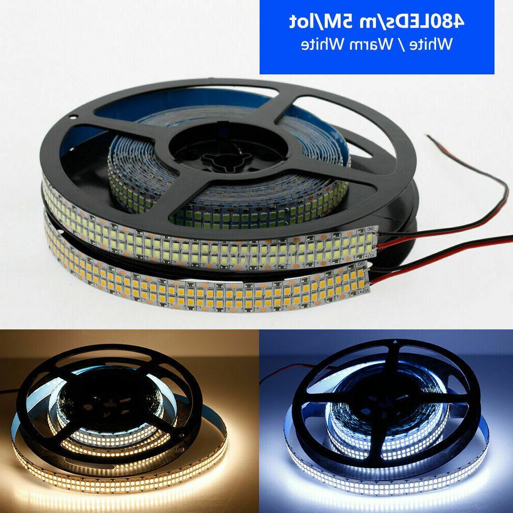 5M LED 120LED/M 240led/m 5mm Tape 12V