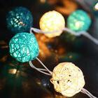 5m Rattan Ball LED String Christmas Wedding Party Fairy Ligh