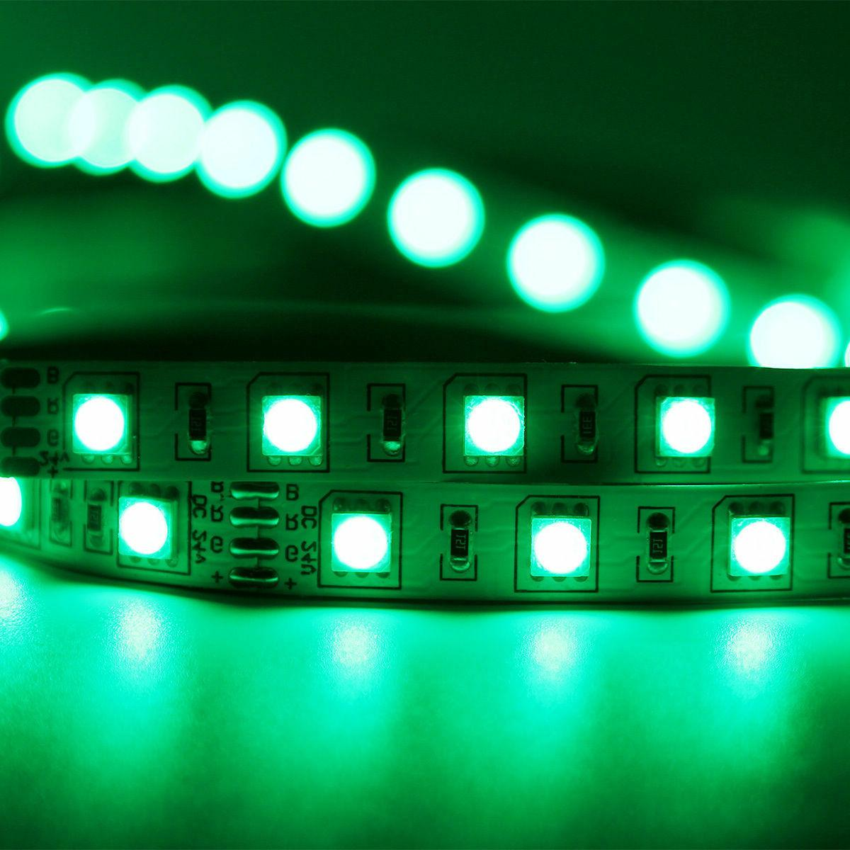 5M RGB Waterproof LED SMD 12V Power