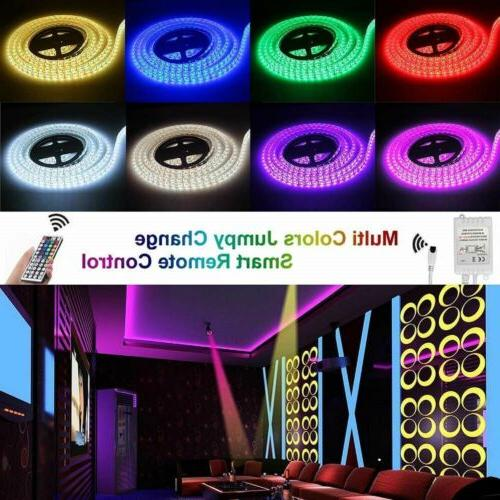 5M RGB 5050 LED light 44 Remote 3A 1