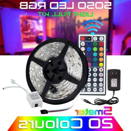 5m rgb 5050 waterproof led strip light