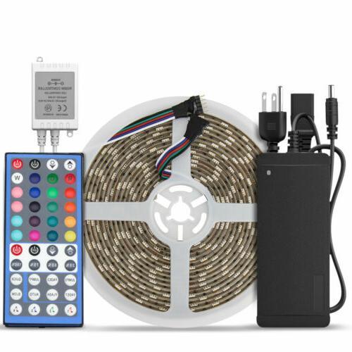 5M RGBWW 300Leds 5050 Waterproof 16.4ft LED Strip Light +44k