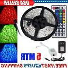 5M SMD RGB 5050 Waterproof 150 LED Strip Light 44 Key Remote