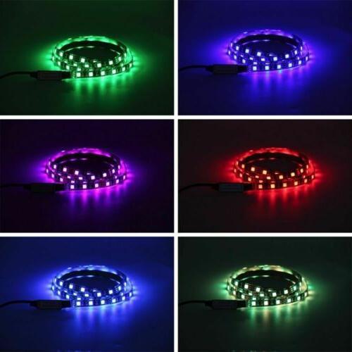 5V Powered LED Backlight 5050 RGB LED Strip Remote