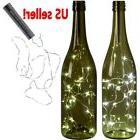 5x 15 LED Cork shape lights Bottle Fairy String Lights Weddi