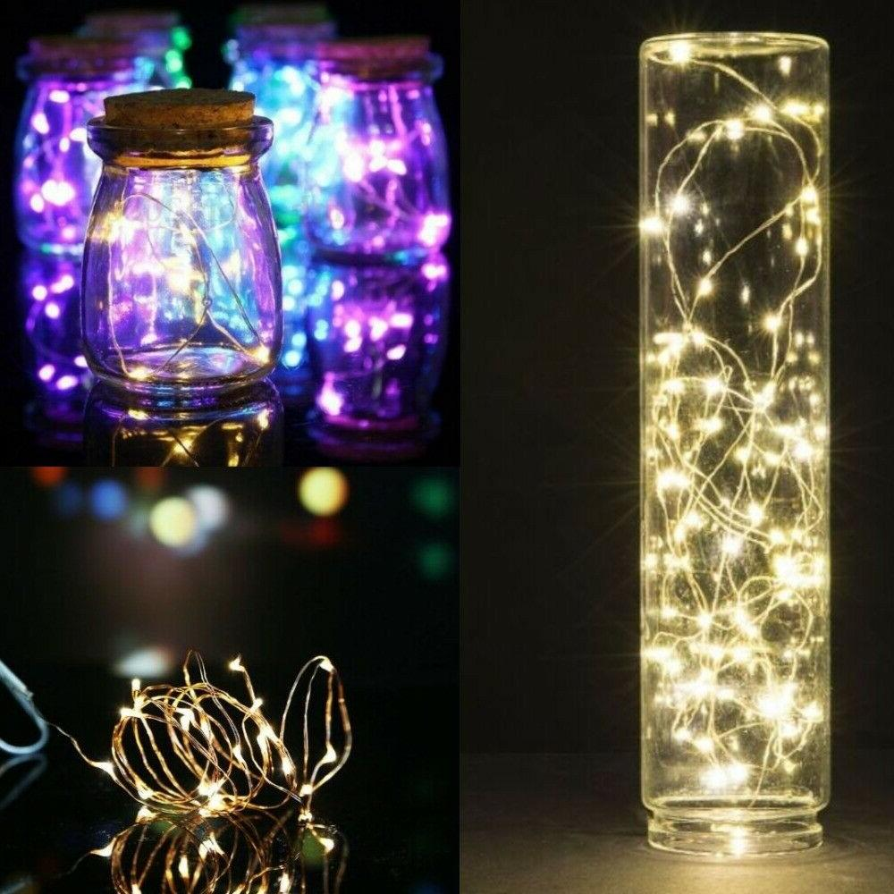 20 LED Copper Wire Battery Powered Waterproof 2M USA