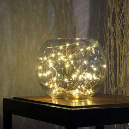 12x Waterproof Copper String Lights Decor