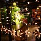 60 LED Fairy String Hanging Stars Curtain Lights Party Weddi
