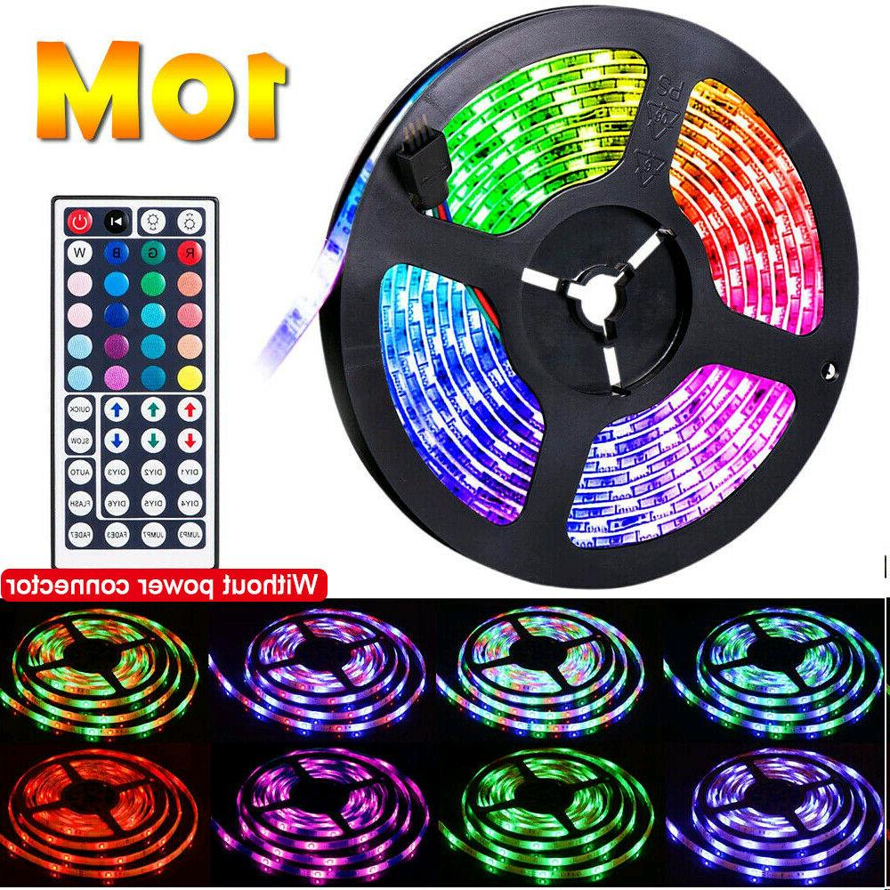 65.6FT Flexible RGB LED Remote Fairy Lights
