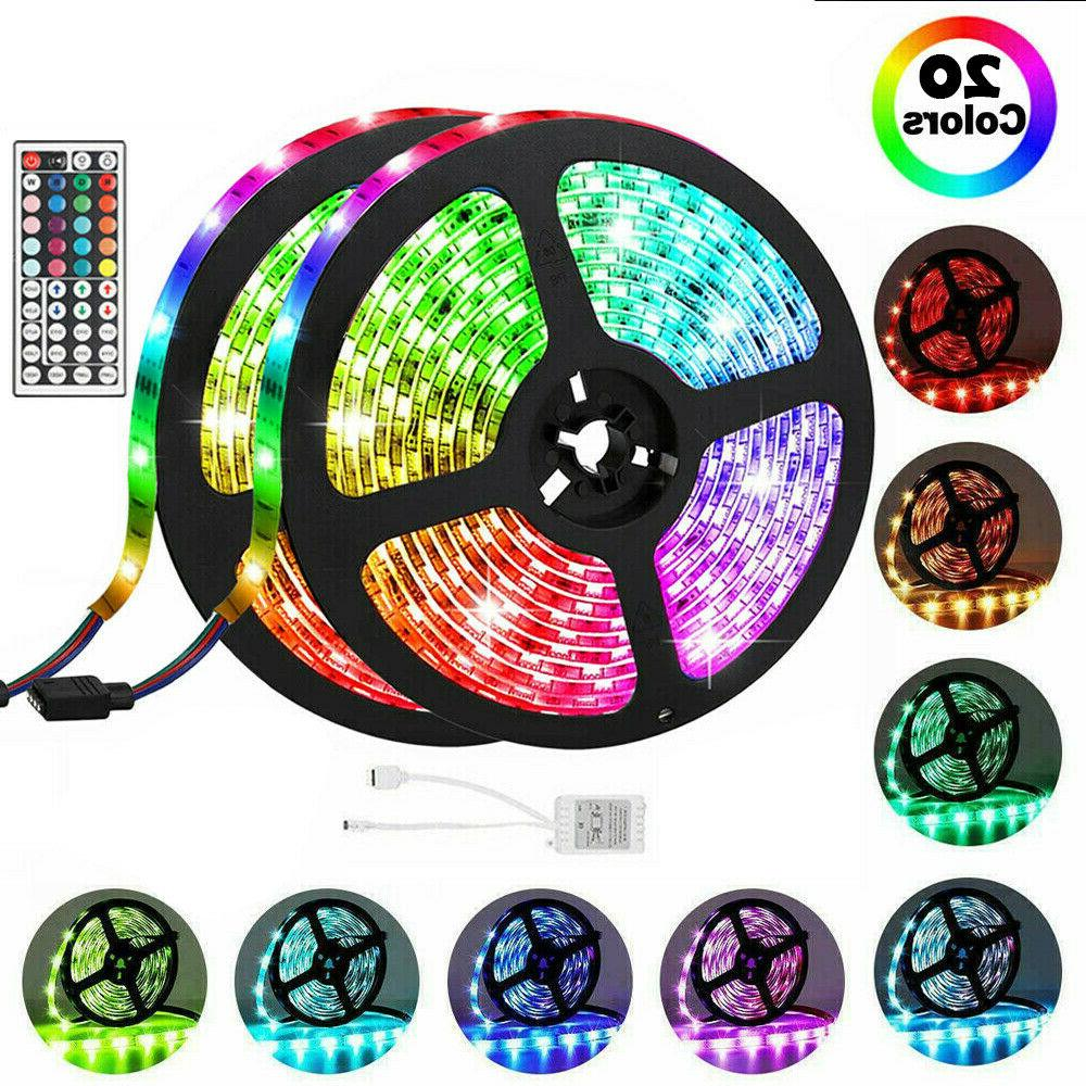 65.6FT Flexible Strip RGB Fairy Room Party Bar