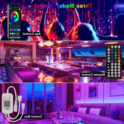 100ft LED Lights Color Remote Rooms Bar