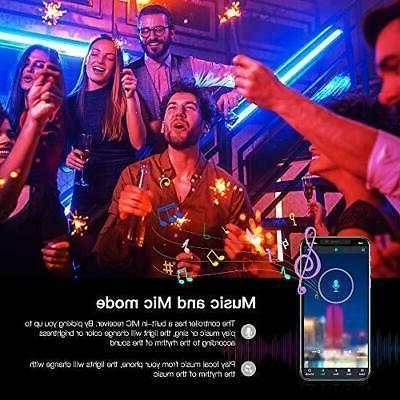 Lights Color Change for Rooms Bar