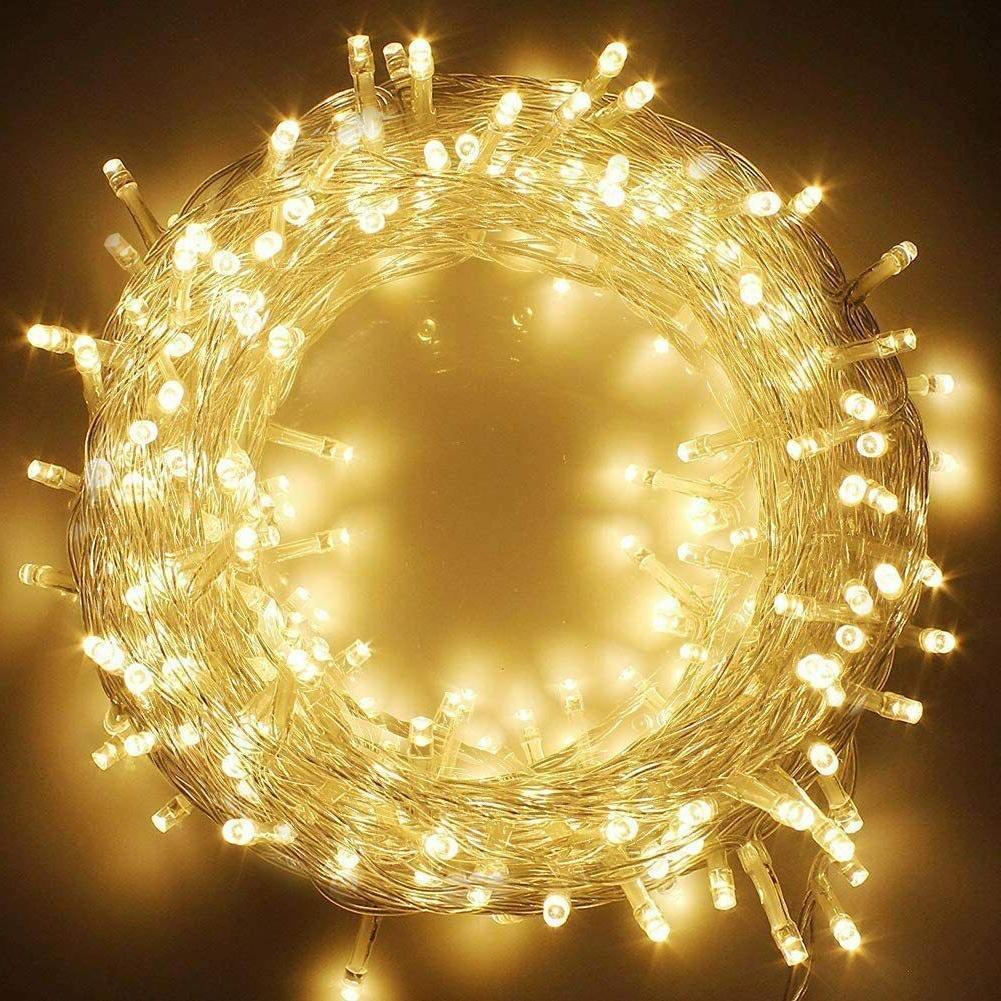 66ft 200 led indoor string lights warm