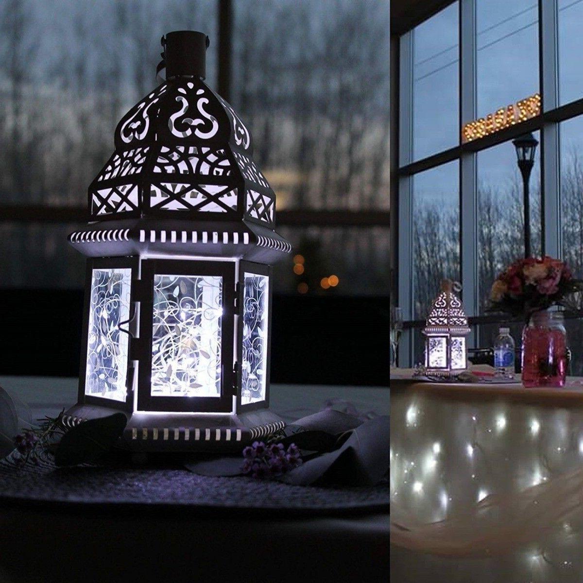 6x 20 2m Waterproof LED Silver Copper String Lights Decor