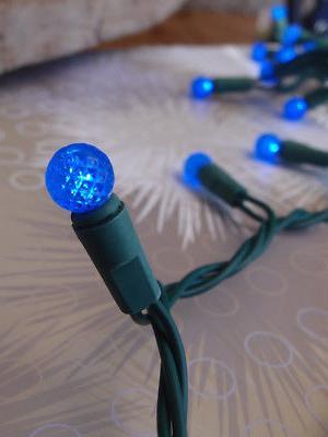 70 Blue G12 String Lights, 23.6 FT Weatherproof,