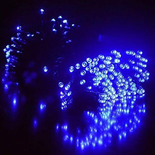 Waterproof Solar Powered 39FT 100 LED LED Party String Fairy