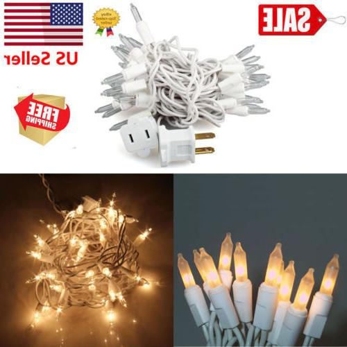 9.5ft 35 Bulbs String Lights Fairy Lamp Wedding Party Xmas L