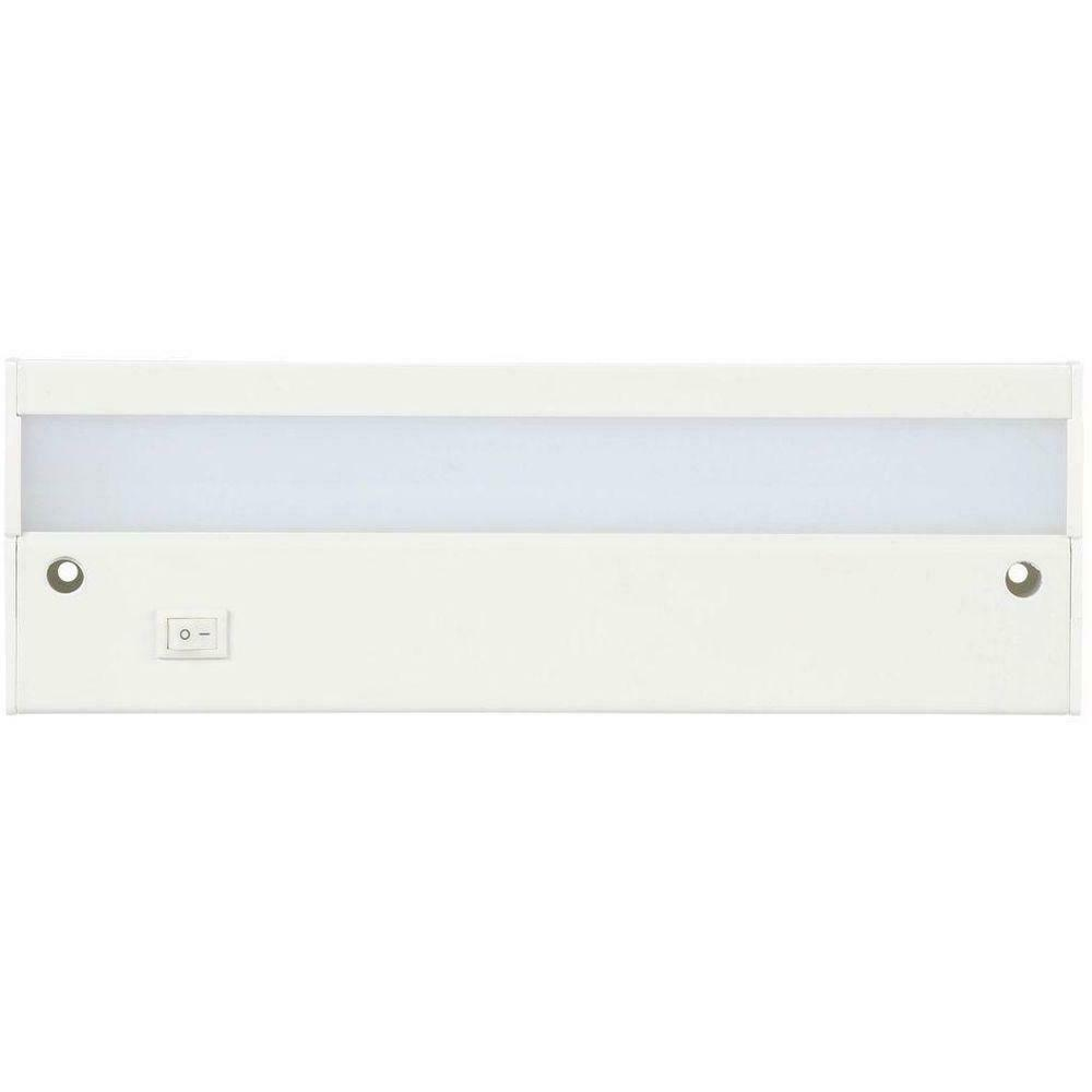 Commercial Electric 9 in. LED White Direct Wire Under Cabine