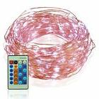 99FT 300 LEDs Outdoor Wedding Christmas Copper Wire LED Stri