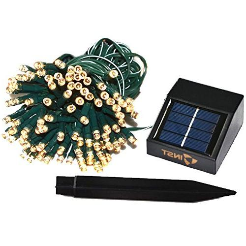 INST Solar Powered LED String Light, Ambiance Lighting, 54.5