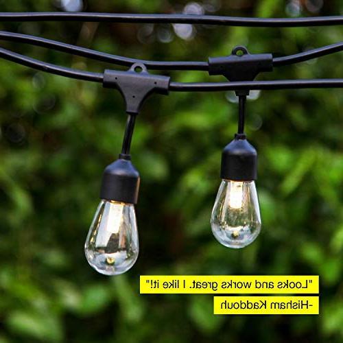 Waterproof String Hanging 2W Duty Pergola Cafe Backyard