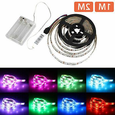 APP Bluetooth Controller 5050 RGB Multicolor LED Strip Light