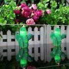 Battery Operated Cactus String Fairy Light Decoration Lamp f