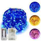 ErChen Battery Operated Dual-Color Led String Lights, 66FT 2