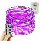 ErChen Battery Operated silver Copper Wire Led String Lights