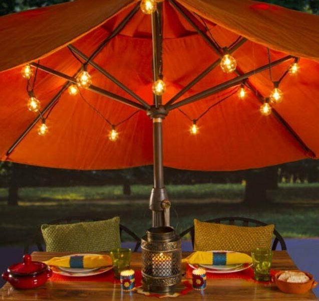 Cafe String Set - 10 Clear Bulbs or Outdoor
