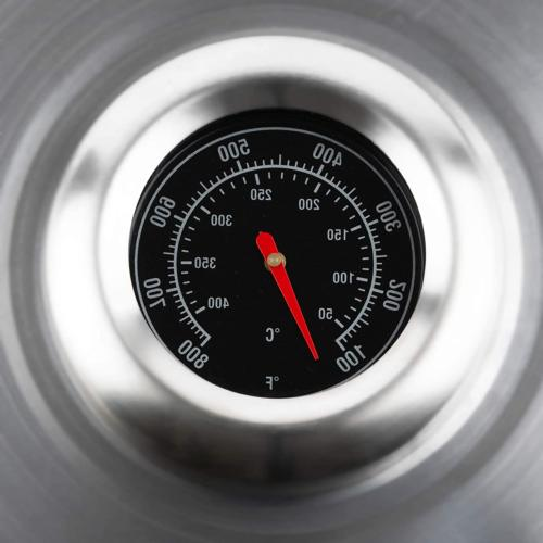 Cheese Melting Dome Steel With Thermometer