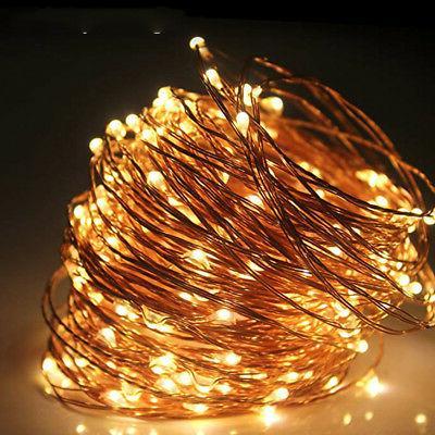 Christmas Decor String Kit Electric Plug-in Change 100LED
