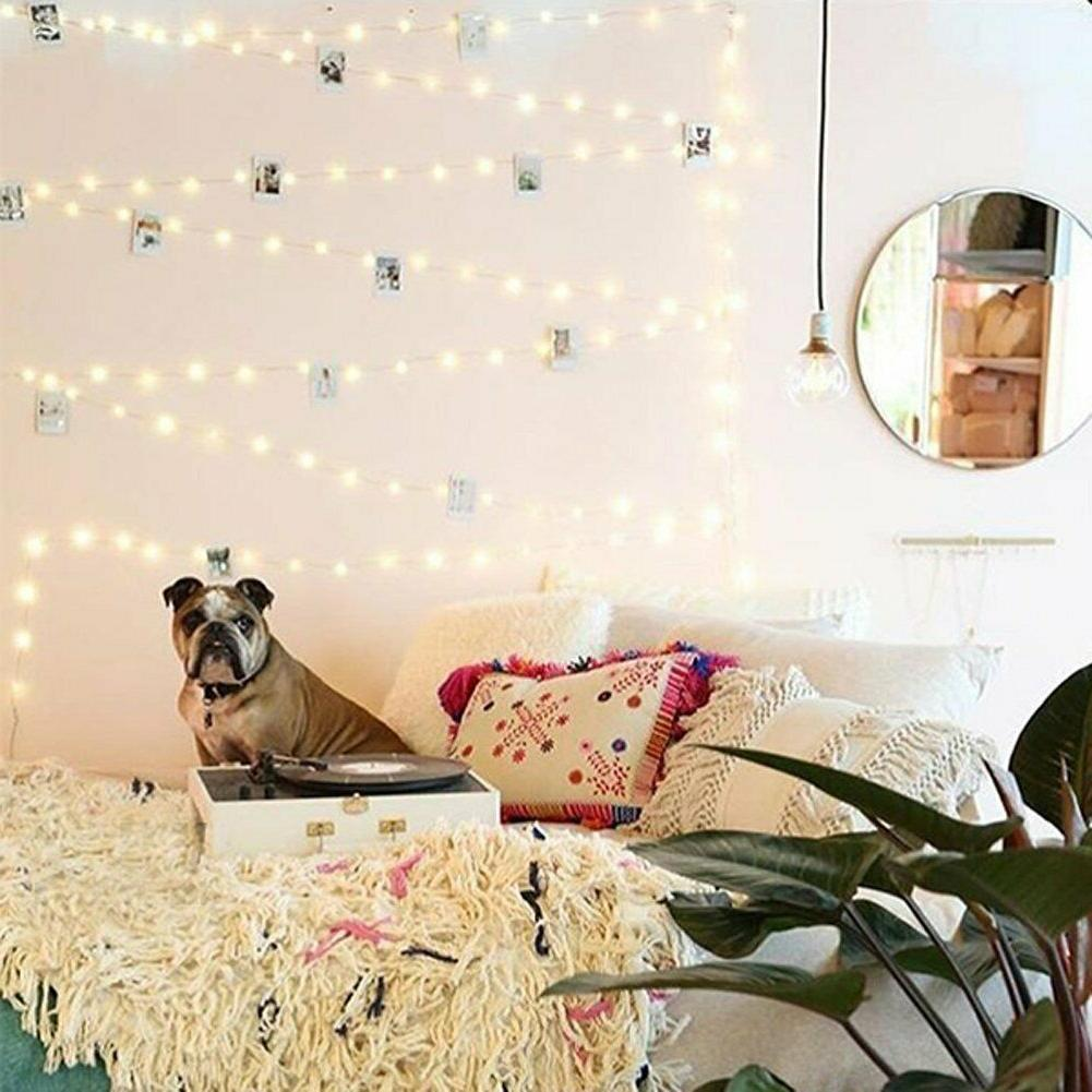 copper wire string lights usb powered