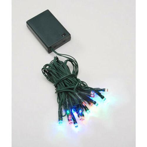 Darice Deco Lights B/O - 10 Teeny* Twinkle Colored Bulbs Cou