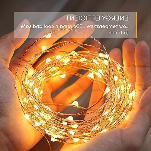 eufy 33 ft LED Decorative Lights with Remote Lights, Indoor and for Wedding,