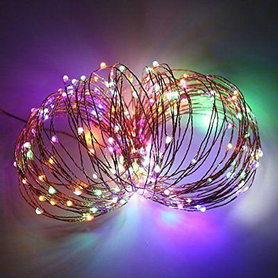 ErChen Lights, FT 500 Leds Plug Wire 8 Modes