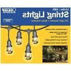 Feit Electric 48ft / 14.6m Outdoor String Lights