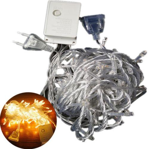 ELectric Plug 100LED Bulb Fairy In/Outdoor