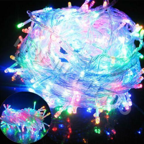 ELectric US 100LED Ball Xmas Bulb String