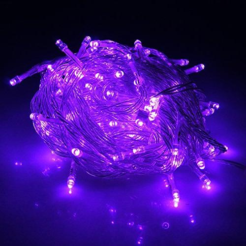 HDE Linkable LED String Lights Holiday Home Fairy Multifunct