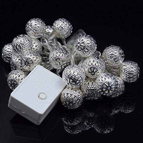 20 Hollow Metal Light for Christmas Holiday, and Garden, Indoor Outdoor