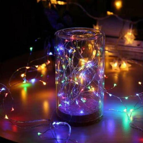Fairy LED Firefly Lights Operated Light Multicolor